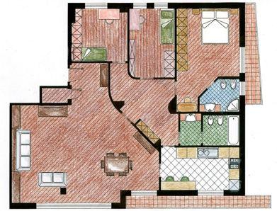 Progetti in bioarchitettura e bioedilizia for Progetti di ristrutturazione appartamenti