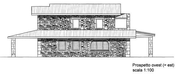 Progetto e costruzione casale medioevale a palombara for Progetti ville minimaliste